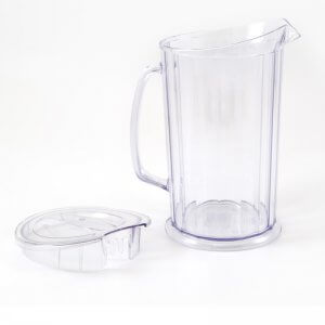 Jug Mega With Lid Clear