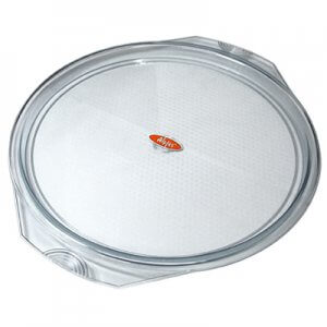 tray round clear